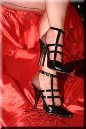 Mistress in high spike heels